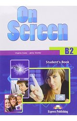thumb_51cqiHi6coL On Screen: B2+ Student's Book + ieBook + Writing Book