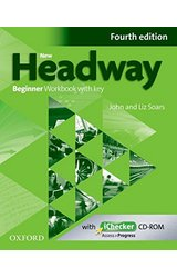 New Headway: Beginner A1: Workbook + iChecker with Key