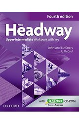 New Headway: Upper-Intermediate B2: Workbook + iChecker with Key: A new digital era for the world