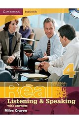 Real Listening and Speaking: 4 with Answers and Audio CD
