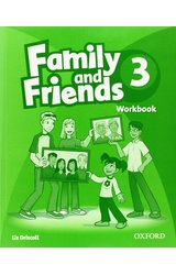Family and Friends: 3 Workbook