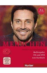 Menschen: Audio-CDs (2) & DVD-Rom zum Kursbuch A2